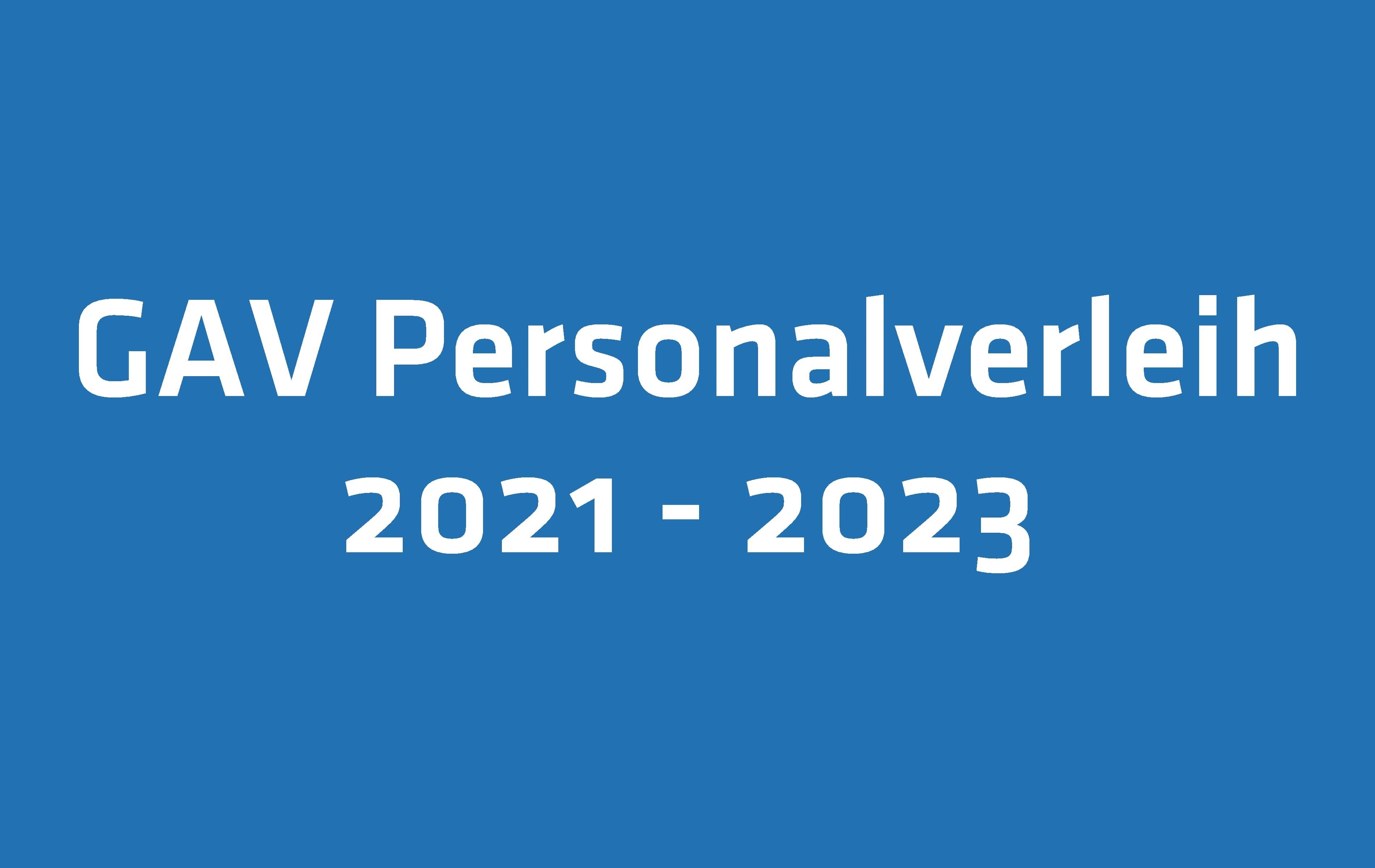 Für einen besseren Schutz von Temporärarbeitenden: Der GAV Personalverleih wird für drei Jahre erneuert