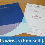 Zertifizierung von Personalsuch- und Verleihfirmen nach den Qualitätsstandards von swissstaffing (Verband der Personaldienstleister der Schweiz).